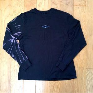 Billabong NWOT Long Sleeve Premium T Large Black